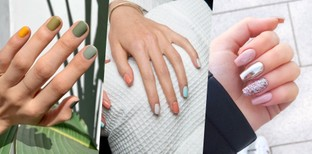 ไอเดียชุดสียาทาเล็บน่ารัก ทาแล้วมือขาวจั๊วะ