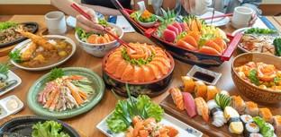 [รีวิว] Tohkai ร้านบุฟเฟ่ต์อาหารญี่ปุ่นพรีเมียม สั่งเมนูได้ผ่านมือถือ