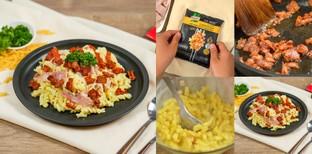 """วิธีทำ """"พาสต้าคาร์โบนารา"""" เมนูอาหารอิตาเลียนง่าย ๆ ภายใน 5 นาที"""