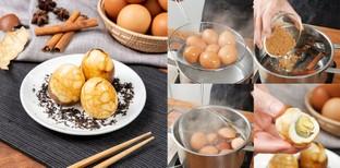 """วิธีทำ """"ไข่ต้มชา"""" เมนูไข่ไม่ธรรมดา หอมกลิ่นใบชา โปรตีนจัดเต็ม"""