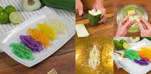 """วิธีทำ """"มะละกอสานรังแตน"""" เมนูของหวาน งดงามอย่างไทย ใครเห็นเป็นต้องชอบ"""