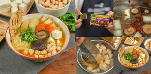 """วิธีทำ """"ก๋วยเตี๋ยวเห็ดหอมเจ"""" เมนูอาหารเจร้อน ๆ ต้อนรับเทศกาลกินเจ!"""