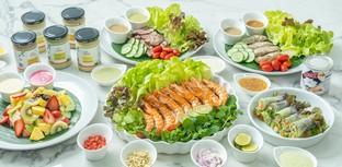 """[รีวิว] """"Salad Hiso"""" ร้านสลัดเดลิเวอรี น้ำสลัดสูตรคิดค้นมานานถึง 15 ปี"""