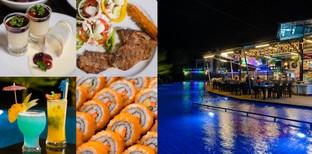 [รีวิว] Hole in one pool bar and restaurant บุฟเฟ่ต์ภูเก็ตในสนามกอล์ฟ!