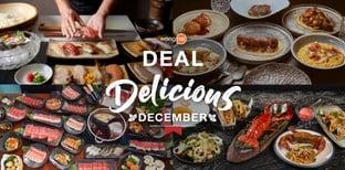 Wongnai Deal : Delicious December ดีลดีส่งท้ายปีที่เราไม่อยากให้พลาด