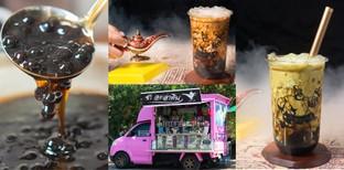 [รีวิว] ชาอะลาดิน ขอนแก่น สัมผัสรสชาติชานมไข่มุกในสไตล์ Food truck !