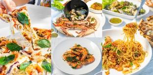 """[รีวิว] """"Laciana by the sea"""" ร้านอาหารทะเลหัวหิน สไตล์อิตาเลียนบ้านนอก"""