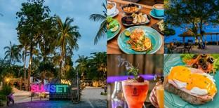 [รีวิว] Sunset Walk ร้านอาหารเกาะพะงัน สุราษฎร์ธานี อิ่มครบ จบทริปได้!