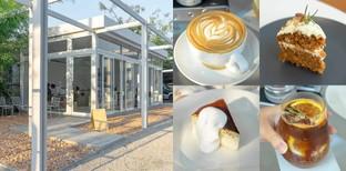 """[รีวิว] """"Flat cafe"""" คาเฟ่เชียงใหม่ สไตล์มินิมอลกับโครงสร้างร้านสุดเก๋!"""