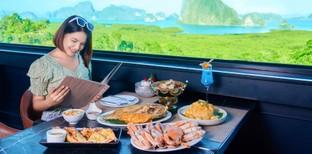 [รีวิว] เสม็ดนางชีบูทีค พังงา อาหารทะเลสดจริง วิวสวยสุดในอ่าวพังงา!