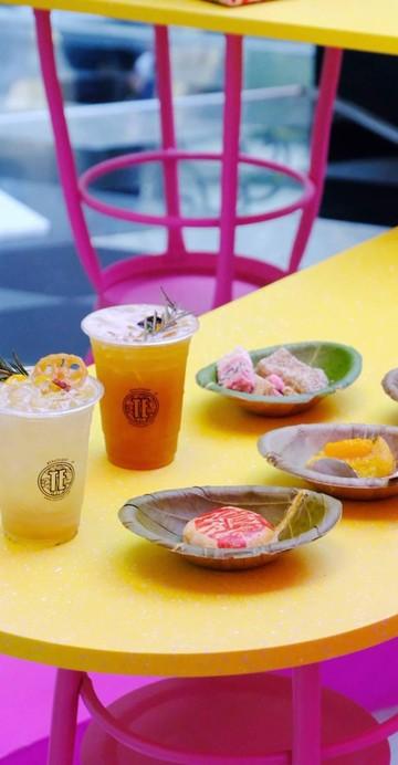ร้านชาป๊อปอัพของแบรนด์ TE ที่เปิดในช่วงเทศกาลตรุษจีนยาวไปจนถึง 17 กุมภาพันธ์ สายมูต้องมากิน เพราะนี่คือเมนูพิเศษกินแล้วโชคดี
