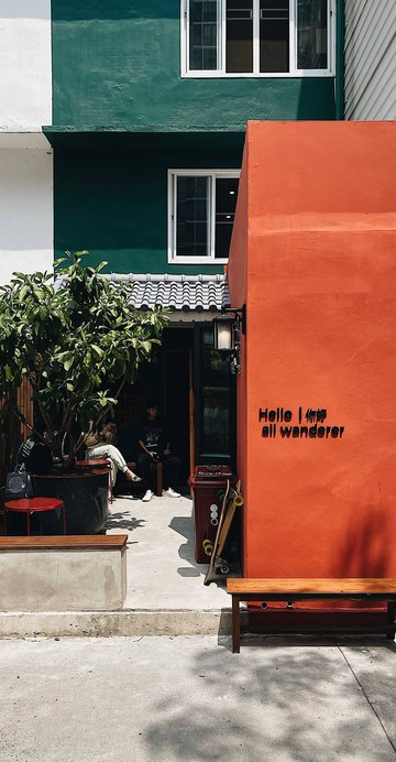 Slow Bar Coffee ย่านอุดมสุขที่ซ่อนตัวภายในโรงแรม Wander wonder สุขุมวิท101/2
