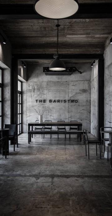 คาเฟ่อีกสาขาของร้านดังอย่าง Baristro ที่จำลองที่นั่งแบบสถานีรถไฟ