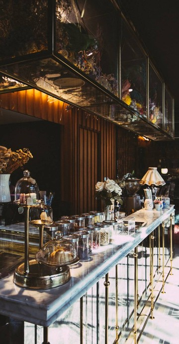 คาเฟ่แนวใหม่ที่นำผลไม้อบแห้งมารังสรรค์เป็นเมนูเครื่องดื่มและของหวานในร้าน