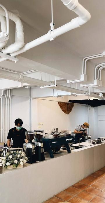 ร้านกาแฟแห่งใหม่ที่นำเอาสุดยอดเอสเปรสโซแมชชีนตัวท็อปอย่าง Sanremo opera 2.0 มาใช้