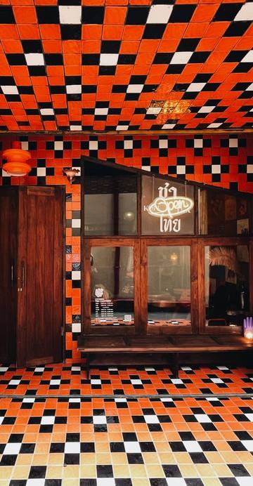 นี่คือร้านชาแห่งใหม่ล่าสุดภายในซอยวาณิช 2 ย่านตลาดน้อย และสามารถแวะมาได้เฉพาะวันเสาร์ในช่วงแรก