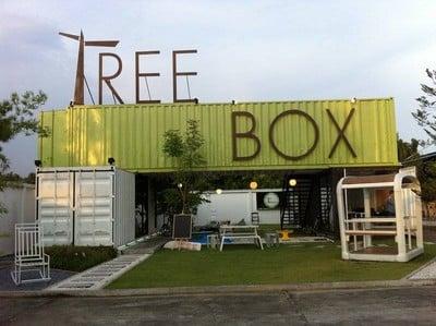 TREEBOX Cafe & Restaurant (ทรีบ็อกซ์) THE BLOC ราชพฤกษ์