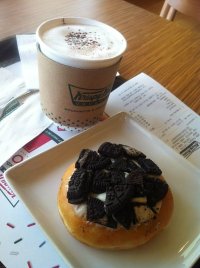 Krispy Kreme (คริสปี้ครีมโดนัท) ศูนย์การค้าเซ็นทรัลพลาซา แกรนด์ พระราม 9