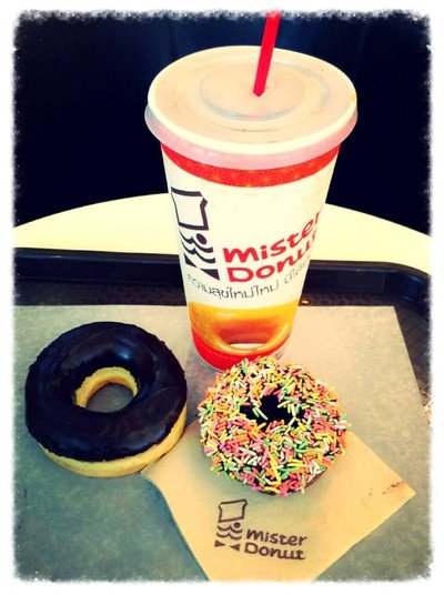Mister Donut (มิสเตอร์ โดนัท) เซ็นจูรี่ อนุสาวรีย์
