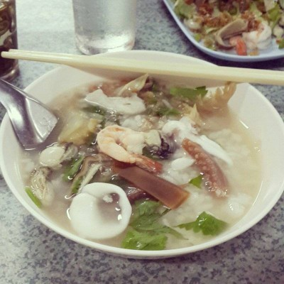 ข้าวต้มปลาเกาะสีชัง