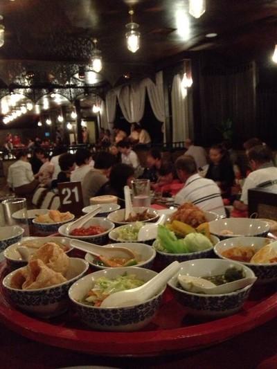 ขันโตกศูนย์วัฒนธรรมเชียงใหม่ (Old Chiang Mai Culture Center)