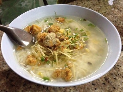 ข้าวต้มหัวปลาฝาแฝด (Kow Tom Hua Pla Fa Faed)