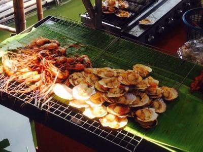 ซี๊ด ซีฟู๊ด seed seafood ตลาดน้ำขวัญเรียม