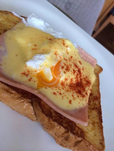 Egg Benedict ...