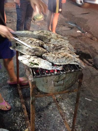 เมี่ยงปลาเผา