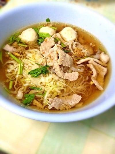 ก๋วยเตี๋ยวหมูหมักกาดหลวง (Guay Tiew Moo Mak Gad Luang)