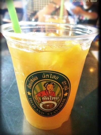น้ำส้มสด