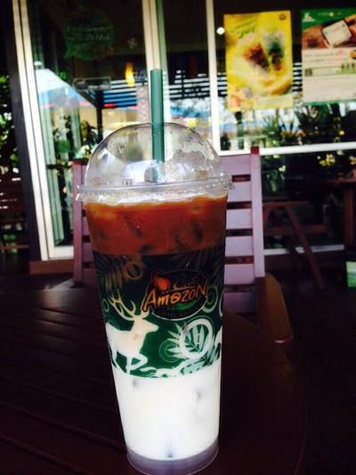 DD871 - Café Amazon (คาเฟ่ อเมซอน) ปตท.หจก.จารุวงศ์ก๊าซบึงกาฬ