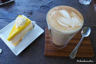 Melt White with Lemon Cheese Cake