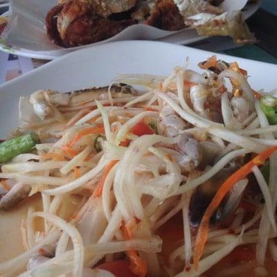 อ้วนผอม เมี่ยงปลาเผา นนทบุรี