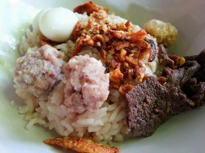 ต้มแห้งเจียงใหม่ (Tom Hang Chiangmai (Northern dried-boiled rice))