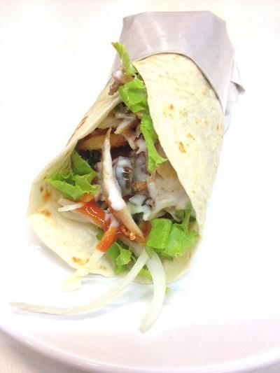 Tortilla Wrap (฿60)