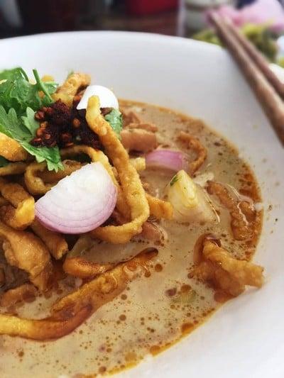 ข้าวซอยบ้านแป้น (Kaosoi Banpaen in Lamphun)