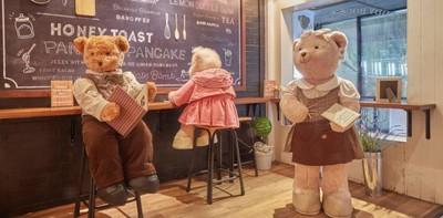 มุ้งมิ้งที่สุด! บ้านหมีเท็ดดี้สุดยอดแห่งความน่ารัก Teddy House Kitchen