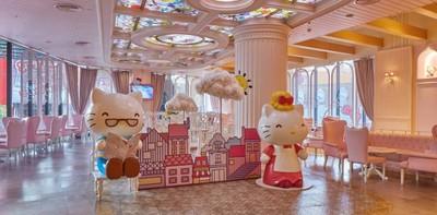 เอาใจสายหวาน! คาเฟ่สุดน่ารัก Sanrio Hello Kitty House มุ้งมิ้งสุด ๆ