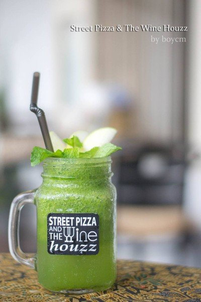Apple Mint Smoothies