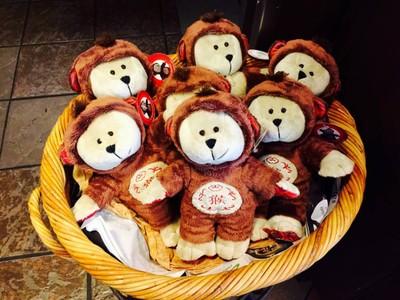 หมีลิงจั๊กๆ สบตาลิงซักหน่อย @ Starbucks Montien