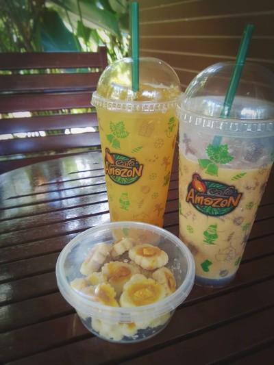 Almond Chocolate Cookie & Amazon Fruit Tea Paradise