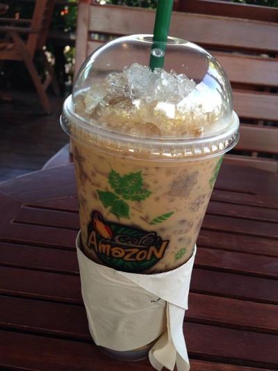 Cafe' Amazon ปั๊ม ปตท. นครสวรรค์ (หนองแมว)