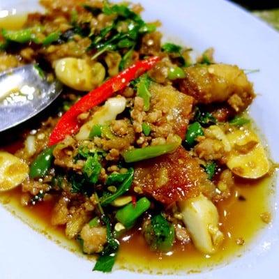 ข้าวต้ม 2 บาท (KHAO TOM 2 BAHT RESTAURANT) บางปลาหมอ ย้ายมาใกล้กับสวนน้ำ