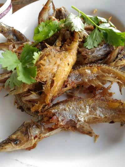 ปลาเนื้ออ่อนทอดกรอบ