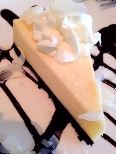 ไวท์ช็อกชีสเค้ก