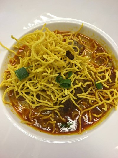 ข้าวซอยเนื้อ Khao Soi Beef (Thailand's Northern Beef Noodle)