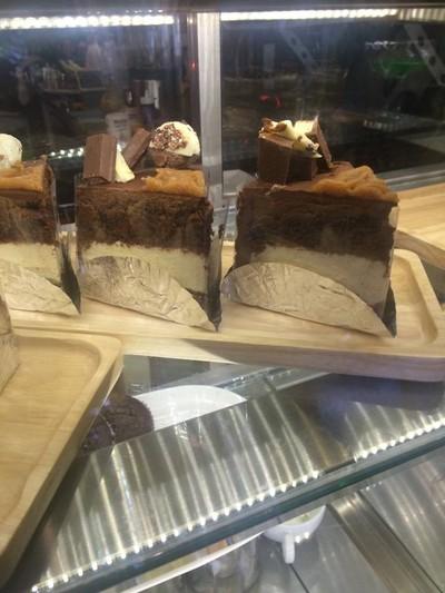 เค้กช๊อคโกแลตคาราเมลชีส##1