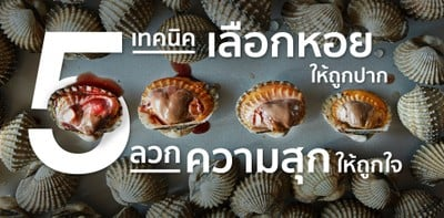 5 เทคนิค เลือกหอยแครงให้ถูกปาก ลวกความสุกให้ถูกใจ!