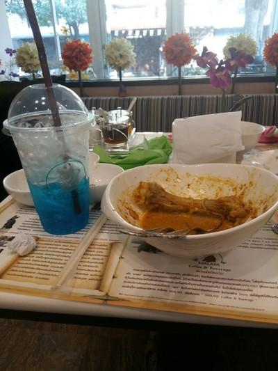 ข้าวซอนไก่ เกลี้ยง 555